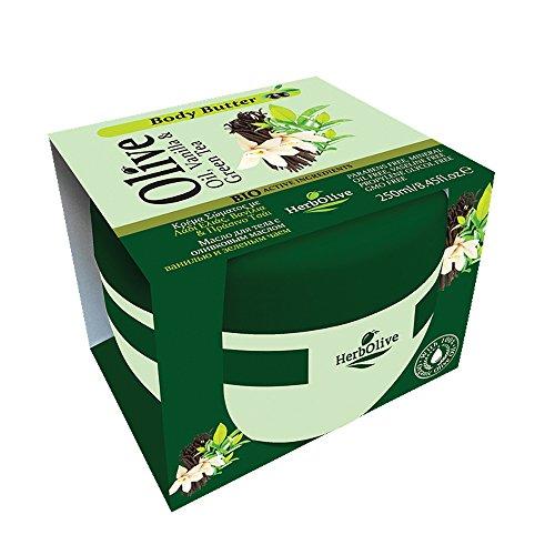 Herbolive body met vanille en groene thee 1-pack (1 x 250 ml)
