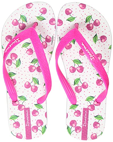Ipanema Temas IX Kids, Chanclas, White Pink, 35 EU