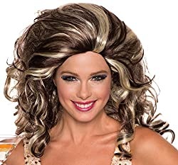 Ladies Big Hair Wig for 80s dress-up