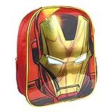 Artesania Cerda Avengers Iron Man, Equipaje para niños, 31 cm,...