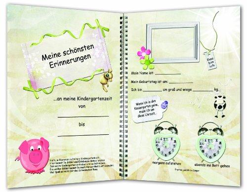 Mein letztes Kindergartenjahr - Erinnerungen an die Kindergartenzeit, Kindergarten-Album, Kindergartenbuch