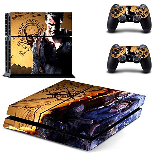 XIANYING Vinyl Uncharted 4-Thief'S End Decal Skin Stickerplaystation 4 Ps4 Console And 2 For Ps4 Controller