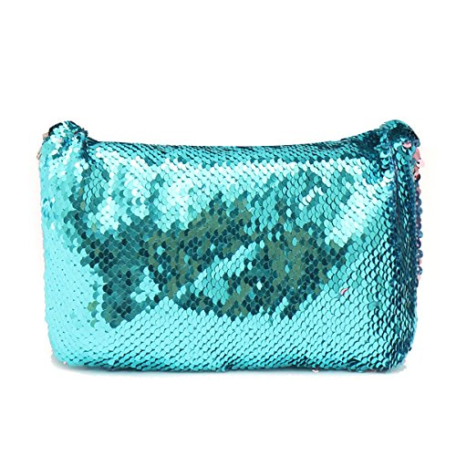 Bluelover Paillettes Scintillante Maquillage Sac Sacs À Main Ceinture Paillettes Portefeuille Sac À Main Étui Cas # 4