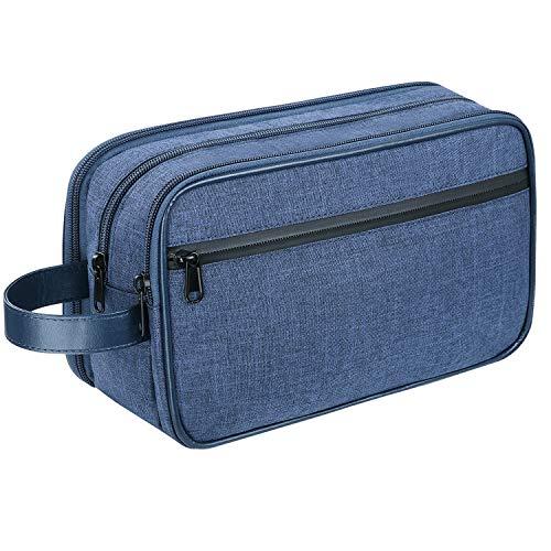 LEEFE Toiletry Bag for Men, Travel Toiletry Organizer Bag, Shaving Bag Dopp Kit Bathroom Toiletries Organizer
