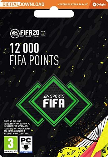 FIFA 20 Ultimate Team - 12000 FIFA Points - Código Origin para PC
