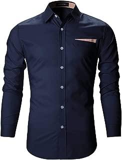 Tryme Fashion Men's Cotton Casual White Shirt for Men Full Sleeves