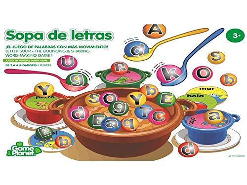 Game Planet Sopa De Letras Juego de Mesa