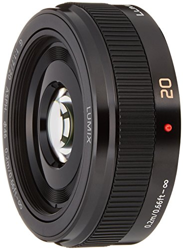 パナソニック 単焦点レンズ マイクロフォーサーズ用 ルミックス G 20mm/F1.7 II ASPH. ブラック H-H020A-K