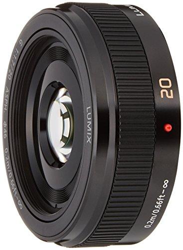 Panasonic h-h020ae MILC/SLR schwarz–Linsen und Filter von Kamera (MILC/SLR, 7/5, 0,2m, Micro Four Thirds, 1,7–16, Handbuch)