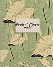 "Workout journal: Fitness Journal and Diary Workout log: Gym Training Log Book 120 pages Large Print 8.5"" x 11"""
