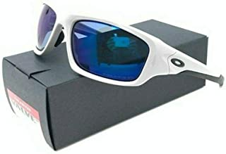 POLARIZED NEW Genuine OAKLEY VALVE Cool Grey Deep Blue Sunglasses OO 9236 26