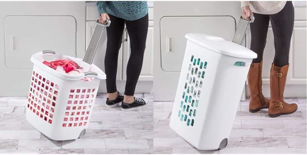 Sterilite 12248004 Laundry Basket unisex 62 L Inexpensive 4 Pack of 1222 White