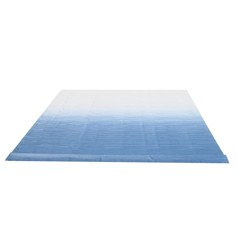 ALEKO RVFAB18X8BLUE24 Awning Fabric Replacement 18 x 8 Feet Blue Fade