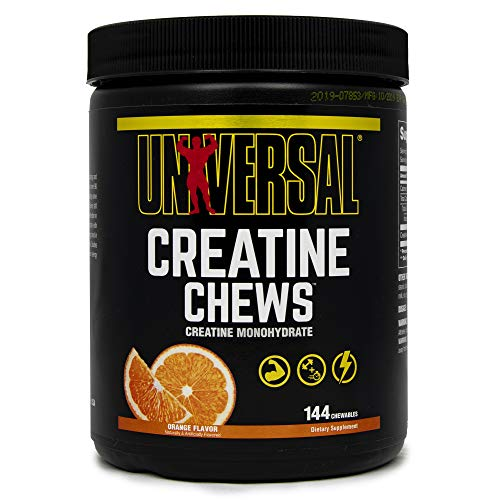 Universal Nutrition Creatine Chews Glykogen Creatin Matrix 144 Kautabletten (Orange)