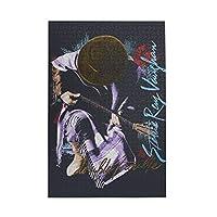 スティービー レイ ヴォーン Stevie Ray Vaughan 1000個の 木製ピース ジグソーパズル ワンピース (50x75cm) ジグソーピース 立体パズル 木製パズル 人気 ピースジグソーパズル