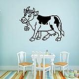 Tianpengyuanshuai Lustige Bull Wandaufkleber Mode für Kinderzimmer Dekoration Aufkleber Home Decoration 45X57cm