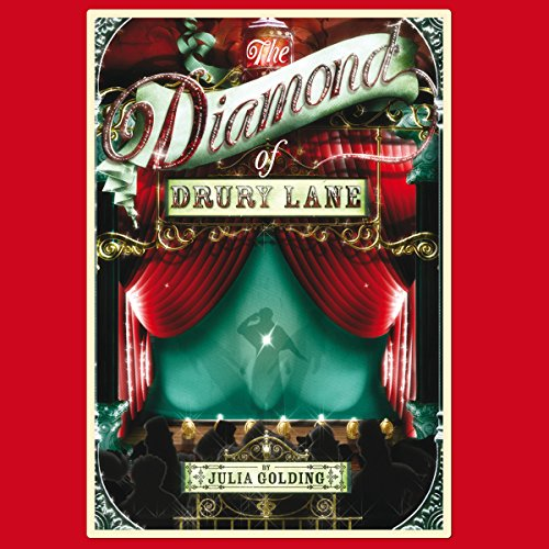 The Diamond of Drury Lane audiobook cover art