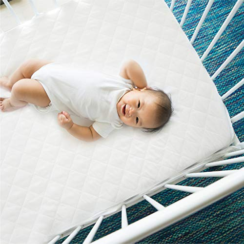 """EXQ Home Pack N Play Crib Mattress Pad Cover 27""""X39"""" Now $9.99 (Was $39.99)"""