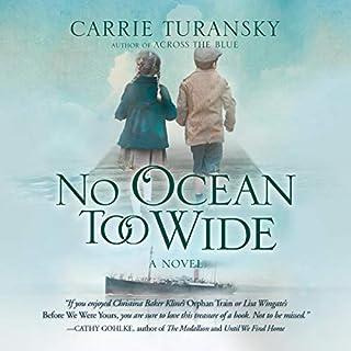 No Ocean Too Wide audiobook cover art
