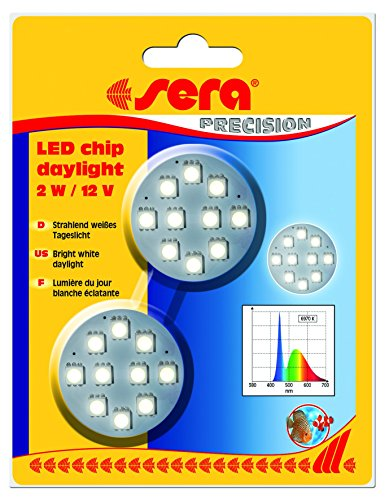 sera LED chip daylight 2 W / 12 V 2 St.