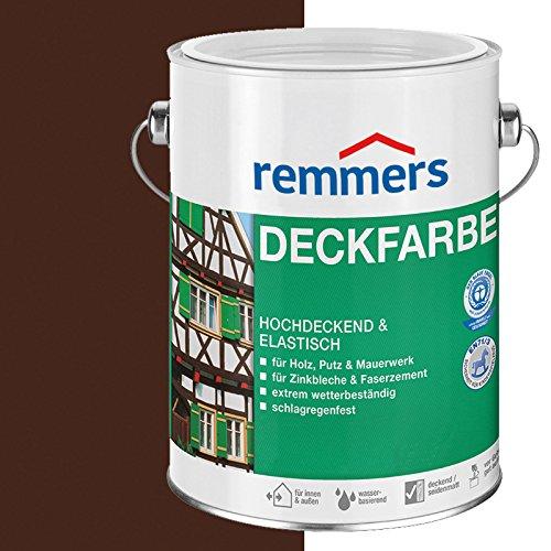 Remmers Deckfarbe - nussbraun 5L