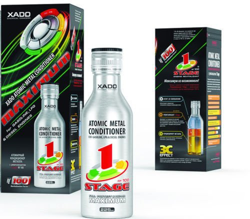 XADO Metall-Conditioner Maximum 1 Stage Tuning - Motoren-Öl Additiv - Verschleiss-Schutz