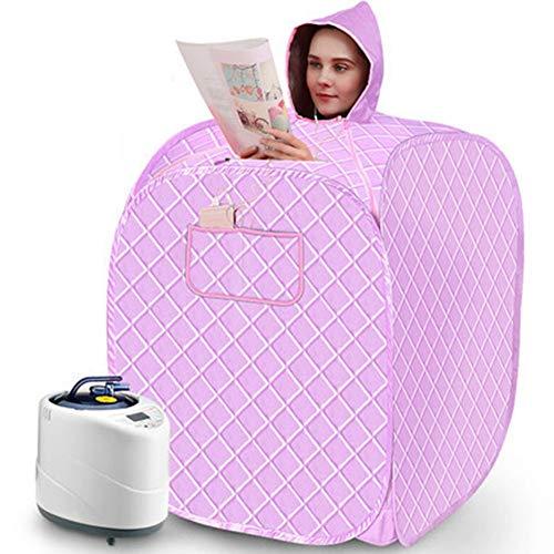 AXAXA Eine Person SPA Tragbare Sauna Dampfbad Begrenzung Dampfmaschine Begasungsbox Dampfsauna Raum Schweißbox 80 * 85Cm,C