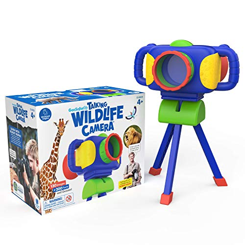Educational Insights GeoSafari Jr. Talking Wildlife Camera
