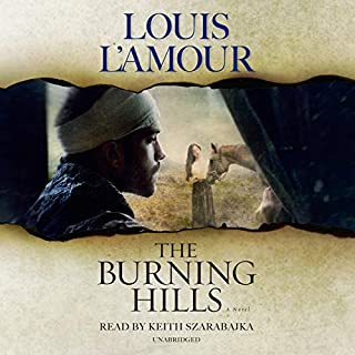 The Burning Hills cover art