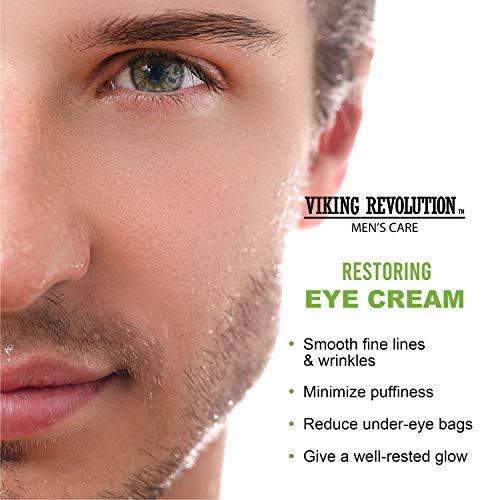 51FTk3QeK0L - Natural Eye Cream for Men - Mens Eye Cream for Anti Aging, Dark Circle Under Eye Treatment.- Men's Eye Moisturizer Wrinkle Cream - Helps Reduce Puffiness, Under Eye Bags and Crowsfeet