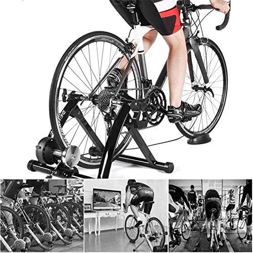Lanrui Bici MTB Easy Home Trainer Magnética Bicicleta Soporte Adapta convenientes Su tamaño distinto de Ruedas (26'~ 28' Y 700C) Fácil de Vacaciones Bike
