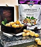 DHRUV Gold Afghani Apricots | Khumani | Khubani | Zardalu, 1kg (Pack of 4)
