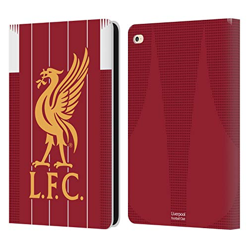 Official Liverpool Football Club Home 2019/20 Kit PU Leather Book Wallet Case Cover Compatible For Apple iPad Air 2 (2014)