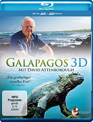 Galapagos 3D – mit David Attenborough [3D Blu-ray]
