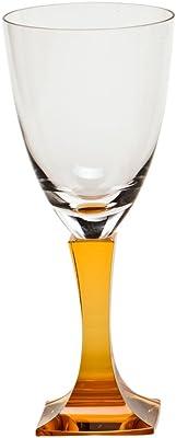 Moser Crystal Lancelot Clear Topaz Goblet
