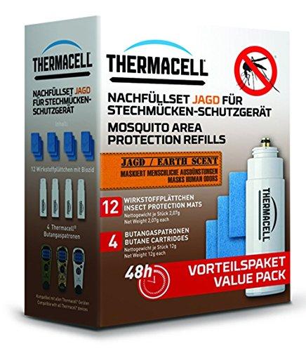 Thermacell E4 E-4 Nachfüllset Passend für Marke MR-WJ, MR-TJ, MR-GJ, MR-CL, MR-CLC, MR-