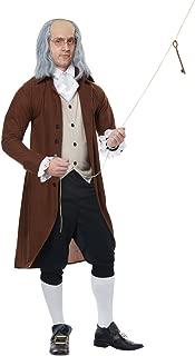 Benjamin Franklin Adult Costume- Brown/Black