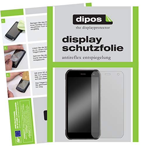 dipos I 6X Schutzfolie matt kompatibel mit Cyrus CS 40 Freestyle Folie Bildschirmschutzfolie