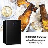 Klarstein Beer Baron Getränkekühler, Volumen: 68 Liter, Temperatur: 0-10 °C, Touch-Bedienfeld, 3 verstellbare Gitterböden, schwarz - 10