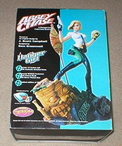 grandes ahorros Danger Girl Abbey Chase Chase Chase Previews Exclusive Resin Statue by D-Boy  mejor calidad