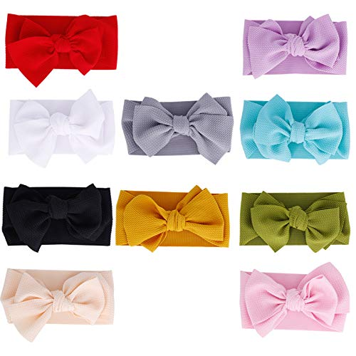 Baby Girl Headbands Newborn Infant Toddler Hairbands and Bows Child Hair Accessories (ZM116)