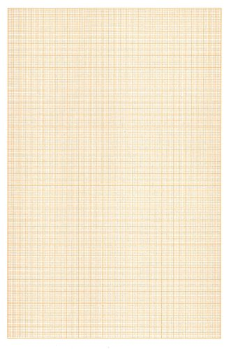 Clairefontaine 97136C Millimeterpapier Block verleimt (A3, 90 g, 50 Blatt) weiß