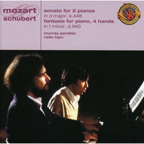 Mozart:Son.Per 2 Pianof/Schubert:Fantasia Per Piano