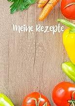 Meine Rezepte: A4 Blanko Kochbuch zum selbst erstellen, gestalten, schreiben, Rezepte sammeln, für Kochideen, Familie, mit Zutaten Liste, super Geschenkidee (German Edition)
