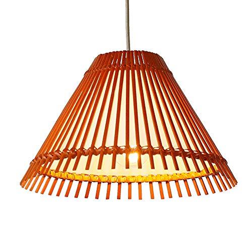 Antike Bambus Holz Pendelleuchten Retro Loft Decke Hängelampe Edison E27 Restaurant Dekoration Droplight Kronleuchter Wohnzimmer Esszimmer Schlafzimmer Anhänger Laterne