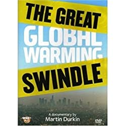 DVD cover: The Great Global Warming Swindle by Martin Durkin