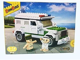بان باو لعبة تركيب سيارة الشرطة للاطفال ، 220 قطعة ، 5003