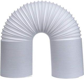 Asdomo - Tubo de Escape para Aire Acondicionado (13/15 cm, PVC reemplazable), White 2m, 15 cm