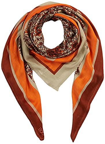ESPRIT edc by Accessoires Damen 081CA1Q304 Mode-Schal, 820/ORANGE, 1SIZE