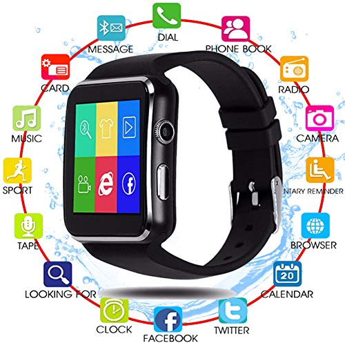 FRWPE Smart Watch Ondersteuning SIM TF Card h Camera Smartwatch Bluetooth Wijzerplaat/met Camera Touch Screen Voor iPhone Xiaomi Android IOS